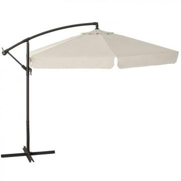 Ombrellone a braccio Ø 300 cm con struttura in acciaio - DISPONIBILE IN 3 COLORI - VERDELOOK