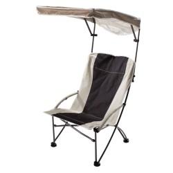Sedia pieghevole QUIK SHADE - PRO Comfort High Armchair - 61x41 cm - Colore Sabbia