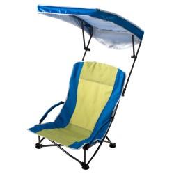 Sedia pieghevole QUIK SHADE - PRO Comfort Low Armchair - Seduta 61x41 cm - Colore Blu