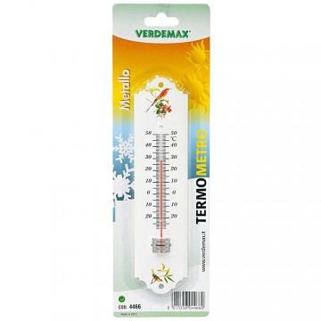 Termometro in metallo VERDEMAX - 4466