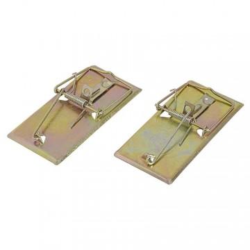 Trappole in metallo per topi (conf. 2 pz) - VERDEMAX 4506