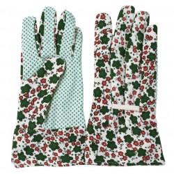 Guanti da giardino a fiori Taglia Media - VERDEMAX 4904