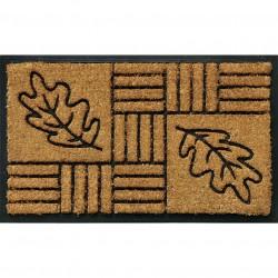 Zerbino rettangolare disegno foglie - VERDEMAX 5445