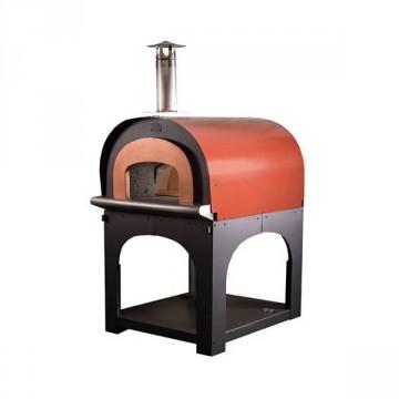 """Forno a legna in refrattario """"1975"""" a cottura diretta - Camera di cottura 80 cm - CLEMENTI"""