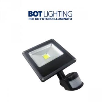 FARETTO LED C/SENSORE 20W-IP44 4000K - LASVEGAS20GIR