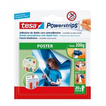 Strisce Bi-Adesive per Poster - Tesa - Powerstrips ® 58303