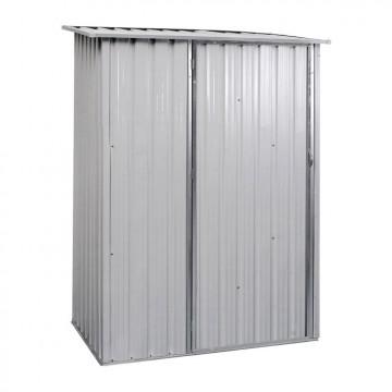 Deposito attrezzi in lamiera zincata e verniciata 130 x 76.5 x 195.5 cm - VERDELOOK 621/62