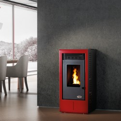 Stufa a Pellet KARMEK ONE - VIGO 10,05 KW - Disponibile in 3 COLORI