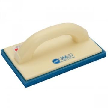 Frattazzo per intonaco tradizionale con gomma spugna blu SPUMATEN® 36 240X100 mm - Serie Ministral - 3M S.R.L. 202