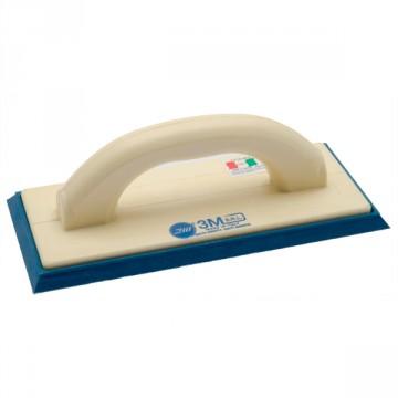 Frattazzo per intonaco premiscelato con gomma spugna morbida SPUMACEL® 23 215X135 mm - Serie Ministral - 3M S.R.L. 221