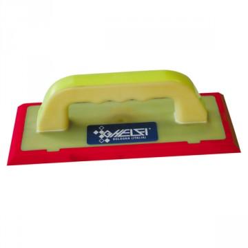 Spatola per stuccare in gomma morbida rossa 26X12 cm - GHELFI S.R.L. 106