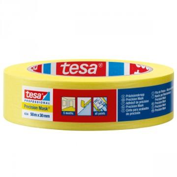 Nastro per mascheratura in carta robusta rivestito con adesivo acrilico - Precision Mask - Tesa 4334
