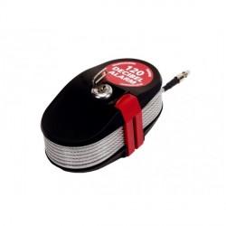 Cavo e lucchetto in acciaio zincato con Allarme 120dB - DOMUS CAVA01
