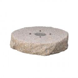 Base in granito H. 8 x L. 40 x P. 40 cm - BEL FER 42/BSG