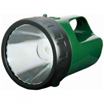 "Torcia Water Proof a batteria ricaricabile 6V - LUCE QUADRA ""Stella Power"" E013"