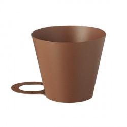Vaschetta in ferro H. 26 x L. 29 x P. 40 cm - BEL FER 42/X - DISPONIBILE IN 4 COLORI