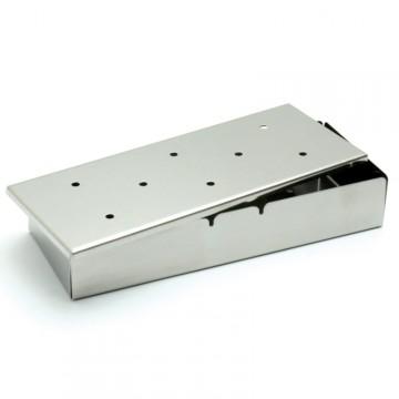 Box per Affumicatura in Acciaio Inox con coperchio 22X9 cm - TRAEGER CC3021