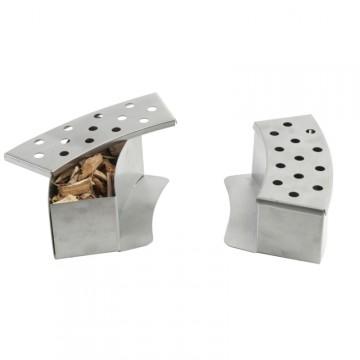 Box curvo per Affumicatura in Acciaio Inox - Set da 2 Pz. - TRAEGER PC0411