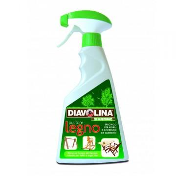 Pulitore Spray per pulizia e manutenzione Legno - DIAVOLINA 15372