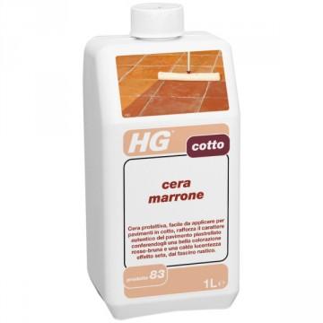 HG CERA MARRONE PER COTTO (HG PRODOTTO 83)