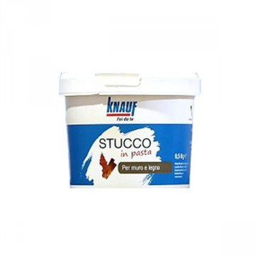 STUCCO PER MURO/LEGNO IN PASTA 0,5 KG
