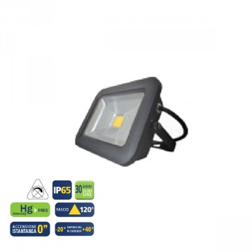 "Proiettore a LED ""LAS VEGAS II 20G"" BOT LIGHTING 20 W -IP 65 - 1400 LUMEN"