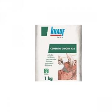 Cemento grigio 42,5 R KNAUF - CONF. 1 KG - 102153