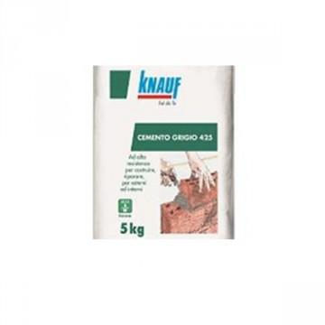 Cemento grigio 42,5 R KNAUF - CONF. 5 KG - 62034