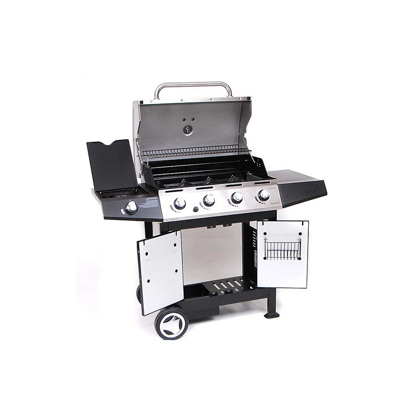 Barbecue a gas sochef golosone 4 dim 136x59x115cm for Giordano shop barbecue a gas