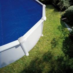 Copertura isotermica anti U.V.A. 605x370cm, per piscina ovale 610x375cm - GRE CPROV610