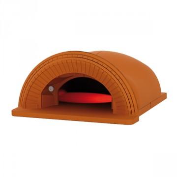 """Forno a legna """"SPAZIO 90"""" in refrattario Con Cornice - ALFA REFRATTARI - 16 pizze in 15 minuti - ALFA PIZZA"""