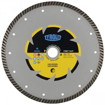 Disco da taglio a secco - mm.150x2,4x22,23 - TYROLIT Standard DCU** C3R