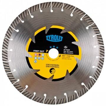 Disco da taglio a secco - mm.230x2,4x22,23 - TYROLIT Premium DCU*** C6R