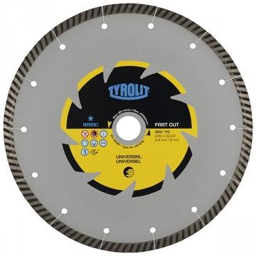 Disco da taglio a secco - mm.180x2,4x22,23 - TYROLIT Standard DCU** C3R