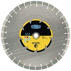 Disco da taglio a secco silenziato - mm.230x2,6x22,23 - TYROLIT Premium DCU***-S C3G
