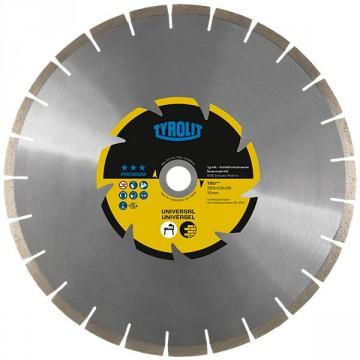 Disco diamantato per taglierina - mm.350x2,8x35 - TYROLIT Premium TSU*** C2W