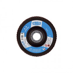 Disco lamellare inclinato - mm.115x22,23 gr.40 - TYROLIT Standard** 27A