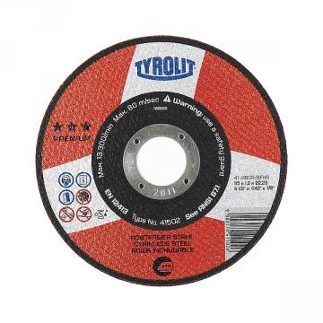 Disco da taglio - mm.115x1,0x22,2 - TYROLIT Premium*** A60R BFXA