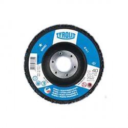 Disco da taglio piano per acciaio e acciaio inossidabile - mm.115x22.23 gr. 80 - TYROLIT Basic ZA80-B