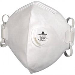 Maschera Facciale Filtrante Monouso FFP1 NR D con valvola piegamento verticale - DELTAPLUS M1100VB