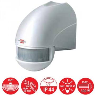 Rilevatore di movimento a infrarossi PIR 110 - IP 44 - BRENNENSTUHL 1170890