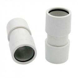 Manicotto tubo/tubo diritto, grigio ⌀ 16 mm - RS16216 ROSI