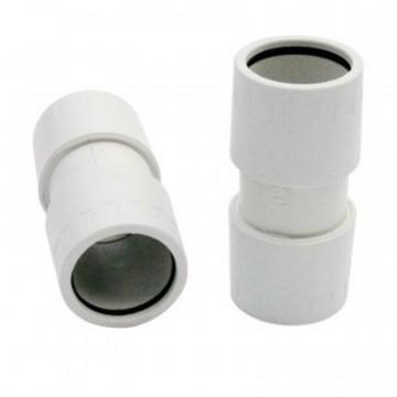 Manicotto tubo/tubo diritto, grigio ⌀ 20 mm - RS16220 ROSI