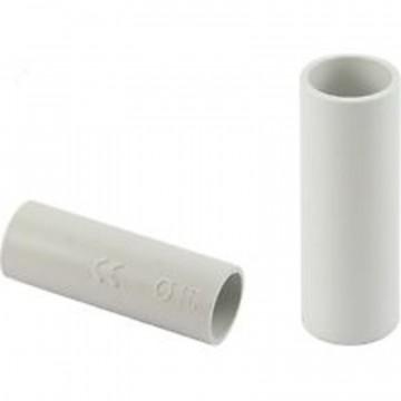 Giunto semplice per tubo ⌀ 16 mm, grigio - ROSI RS16011