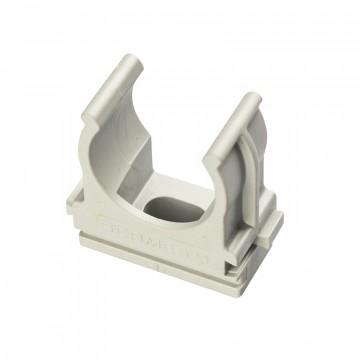 Clips fissatubo a scatto ⌀ 16 mm, grigio - ROSI RS16041