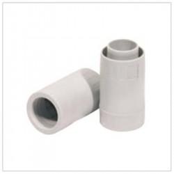 Raccordo diritto tubo/guaina ⌀ 16 mm, grigio - ROSI RS16816