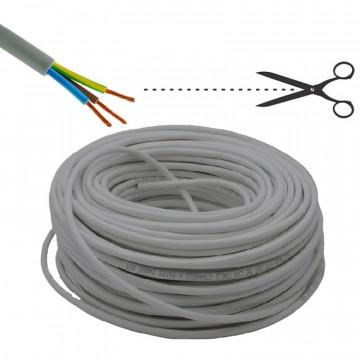 Cavo di installazione tripolare FROR grigio, 2G1,5 - costo per m - ELECTRALINE 31410