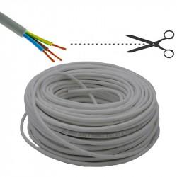 Cavo di installazione tripolare FROR grigio, 3G1,5 - costo per m - ELECTRALINE 30393