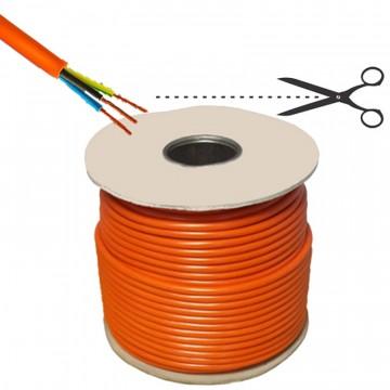 Cavo domestico FFC/2 arancio, 3G1,5 - prezzo al metro - ELECTRALINE 30169