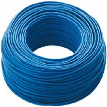 Cavo di installazione N07V-K blu, 1x1,5 - costo al metro - ELECTRALINE 31352